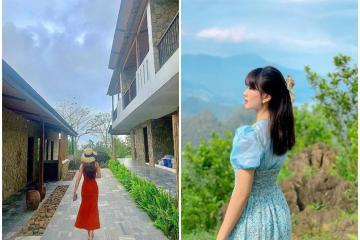 Check in Bakhan Village Resort 'nơi trú ẩn thần tiên' cho ngày nóng đổ lửa