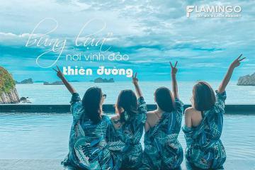 Trải nghiệm nghỉ dưỡng tại khách sạn Flamingo Cát Bà – Đẳng cấp resort 5*
