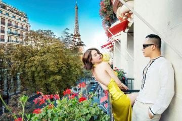 Có gì đặc biệt ở Hotel Plaza Athenee Paris, viên ngọc giữa Paris nơi Ngọc Trinh, Vũ Khắc Tiếp review đến 700 triệu đồng/đêm?