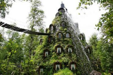 Khách sạn rừng Montana Magica Lodge - câu chuyện cổ tích ở Chile