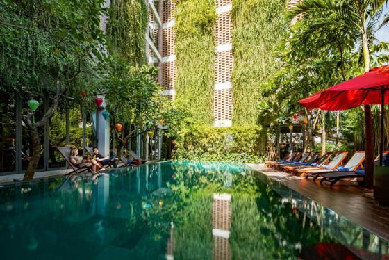 Khách sạn Mulberry Collection Silk Eco - độc đáo với kiến trúc xanh từng thắng giải lớn của châu Á