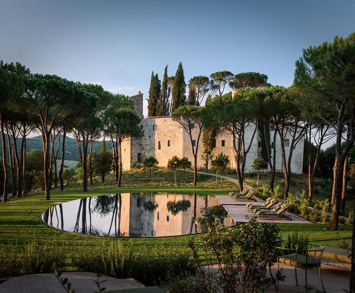 Lâu đài cổ vùng Umbria