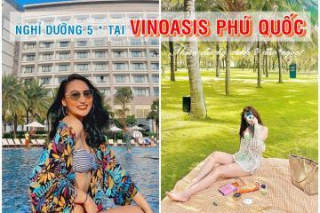 Deal siêu hot nghỉ dưỡng 5 sao tại khách sạn VinOasis Phú Quốc Unlimited Access to Water Park