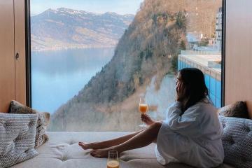 Burgenstock Resorts đứng đầu Thuỵ Sỹ về độ sang chảnh và cao cấp