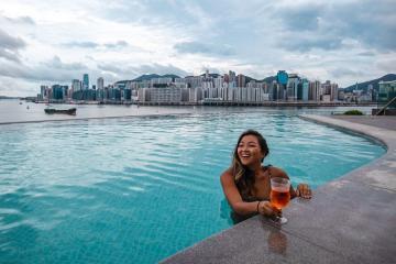 Kerry Hotel, biểu tượng của đô thị phồn hoa sang trọng nhất Hồng Kông