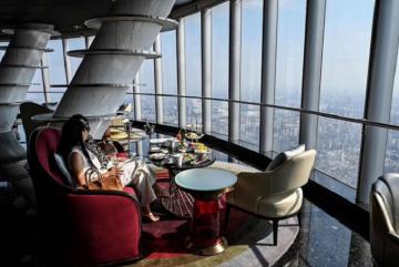 Chính thức khai trương khách sạn cao nhất thế giới ở Trung Quốc