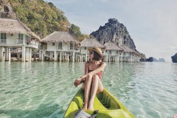 Lạc vào Miniloc Island Resort, viên ngọc xanh trên đảo ở Philippines