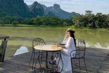 Dạo bước giữa khung cảnh làng quê thu nhỏ tại Serena Resort Kim Bôi thanh bình, an yên