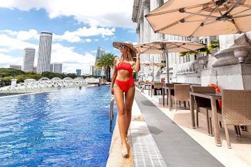 Đến The Fullerton Hotel Singapore tận hưởng cảm giác cổ điển sang trọng giữa đô thị sầm uất