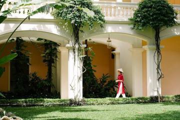 Ấn tượng với Anantara Hội An Resort sở hữu kiến trúc Pháp hoài cổ bên dòng sông Thu Bồn thơ mộng