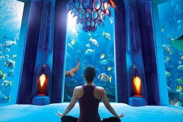 5 khách sạn hạng sang có tầm view 'thủy cung' nằm dưới lòng đại dương