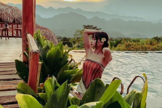 Lạc lối giữa thiên nhiên hoang sơ, thơ mộng tại khu nghỉ dưỡng Pù Luông Eco Garden hàng đầu Thanh Hóa