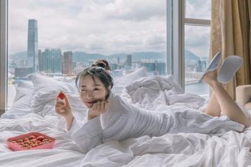 Lạc vào không gian sang chảnh tại khách sạn Four Seasons Hong Kong tọa lạc ngay cảng Vicoria
