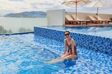 Ấn tượng với chất lượng dịch vụ đẳng cấp tại khu nghỉ dưỡng Vinpearl Condotel Beachfront Nha Trang bên bờ biển thơ mộng