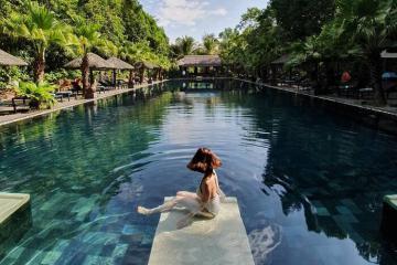 'Chạy trốn' về miền quê an yên, thành bình tại khu nghỉ dưỡng Pilgrimage Village Resort Huế tọa lạc giữa thiên nhiên