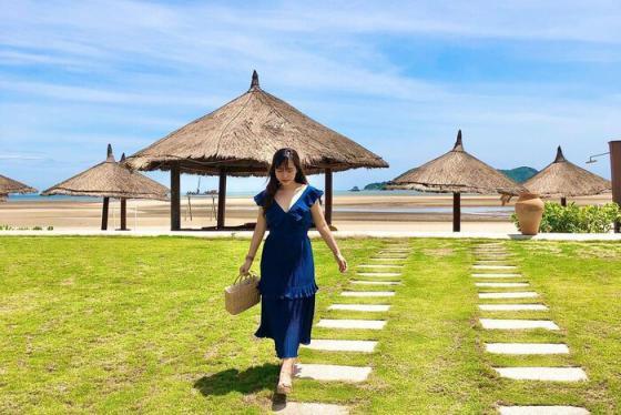 Chìm đắm trong không gian nghỉ dưỡng tiện nghi và đẳng cấp tại Vinpearl Discovery Cửa Hội tọa lạc bên bờ biển thơ mộng